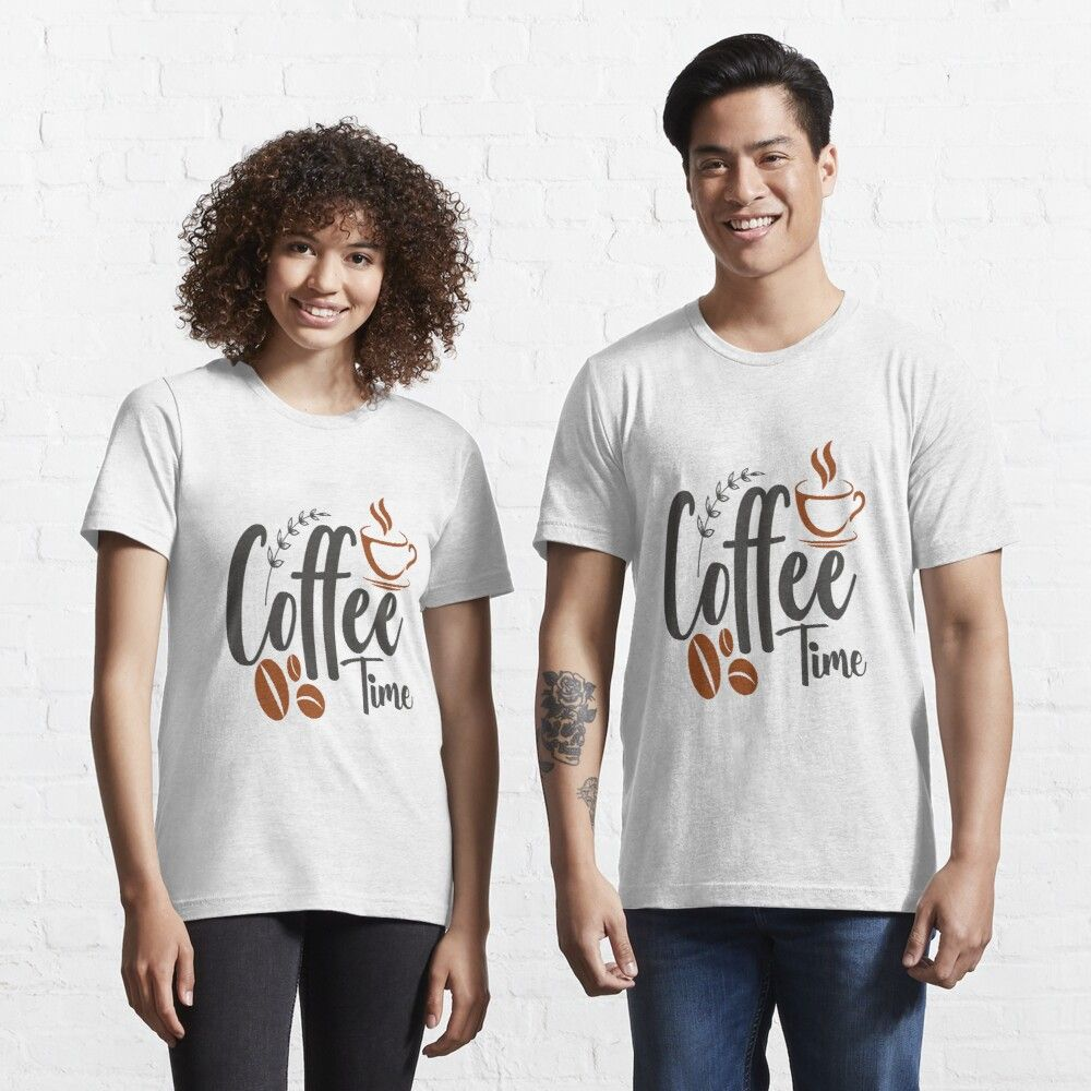 Your coffee is ready, coffee time Essential T-Shirt by Ripoubsb