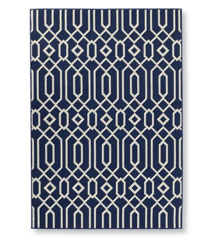 Indoor Outdoor Easy Care Rug Geo Print Outdoor Rugs At L L Bean