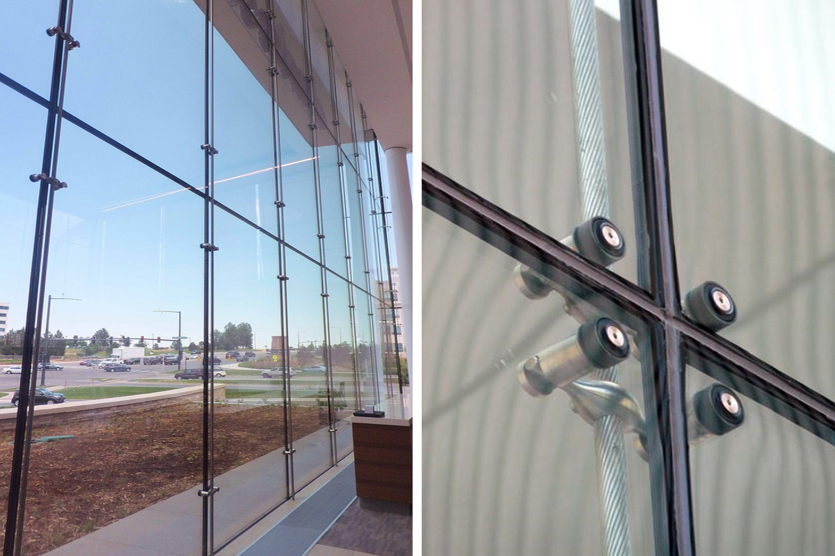efficient innovations curtain throughout door systems texas glass wall sustainable woodcurtainwall solar