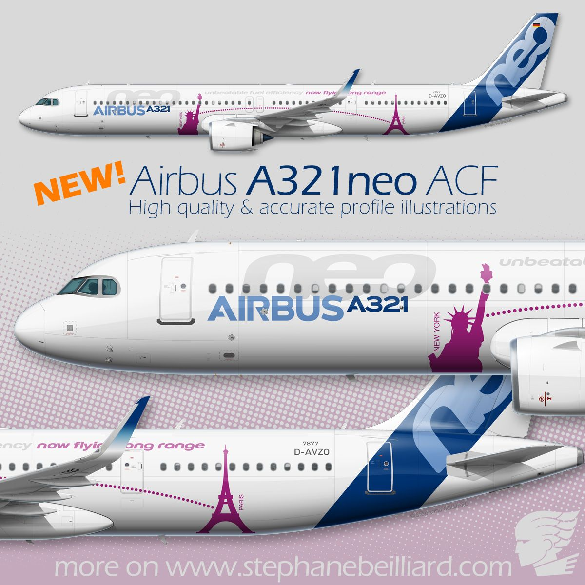 New A321neo Acf Profile Illustration On My Website