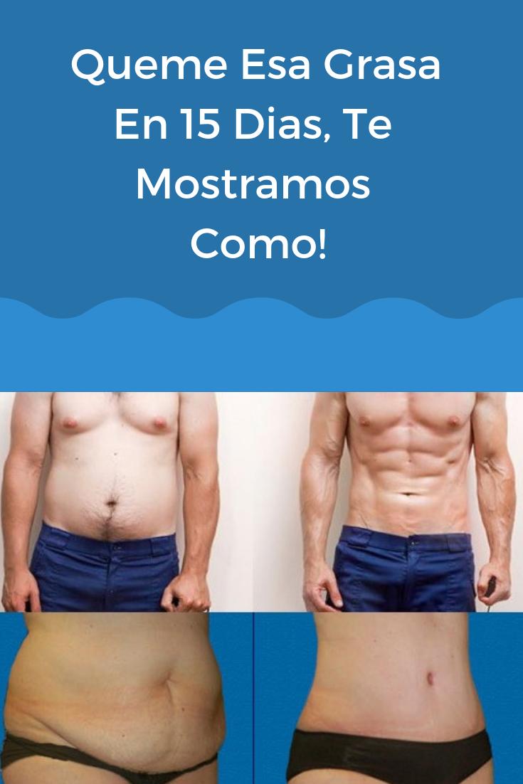 como quemar grasa corporal rapidamente hombres