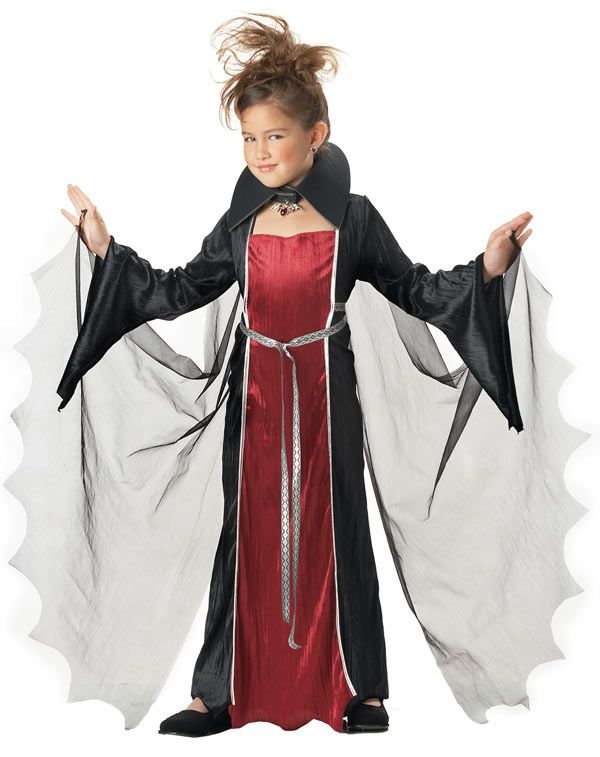 Vampire Girl Costume - Vampire Costumes Halloween Pinterest - halloween ideas girls