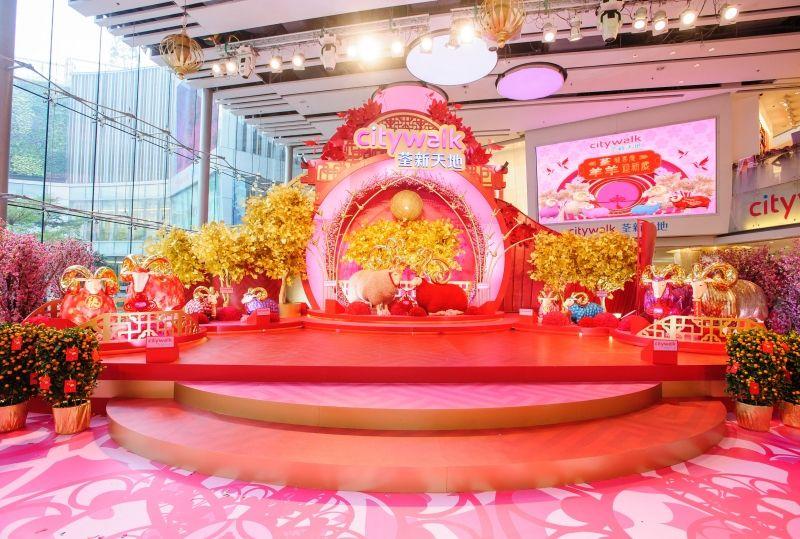 City Calk mall_Hong kong_Lunar New Year decoration_1 New