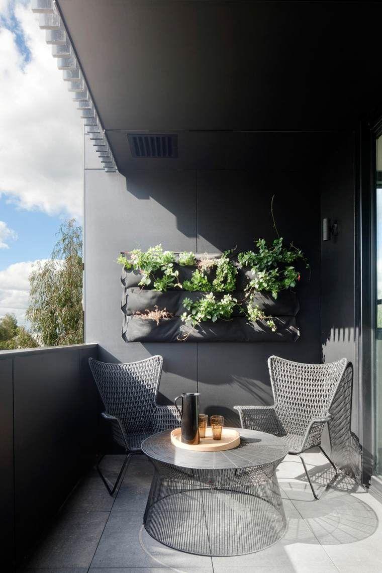 Meuble Balcon 25 astuces d'aménagement balcon terrasse petit espace | balcony