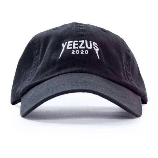 00b5b6b096 Yeezy 2020 Yeezy for president dad hat strapback Kanye 2020 ❤ liked on  Polyvore featuring accessories and hats