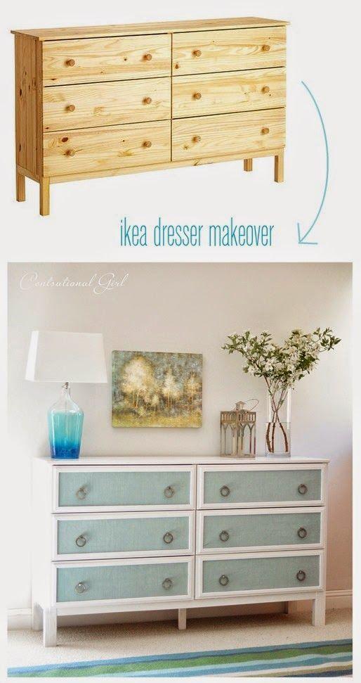 aujourd 39 hui on relooke une commode ikea dans le style shabby chic les photos avant apr s sont. Black Bedroom Furniture Sets. Home Design Ideas
