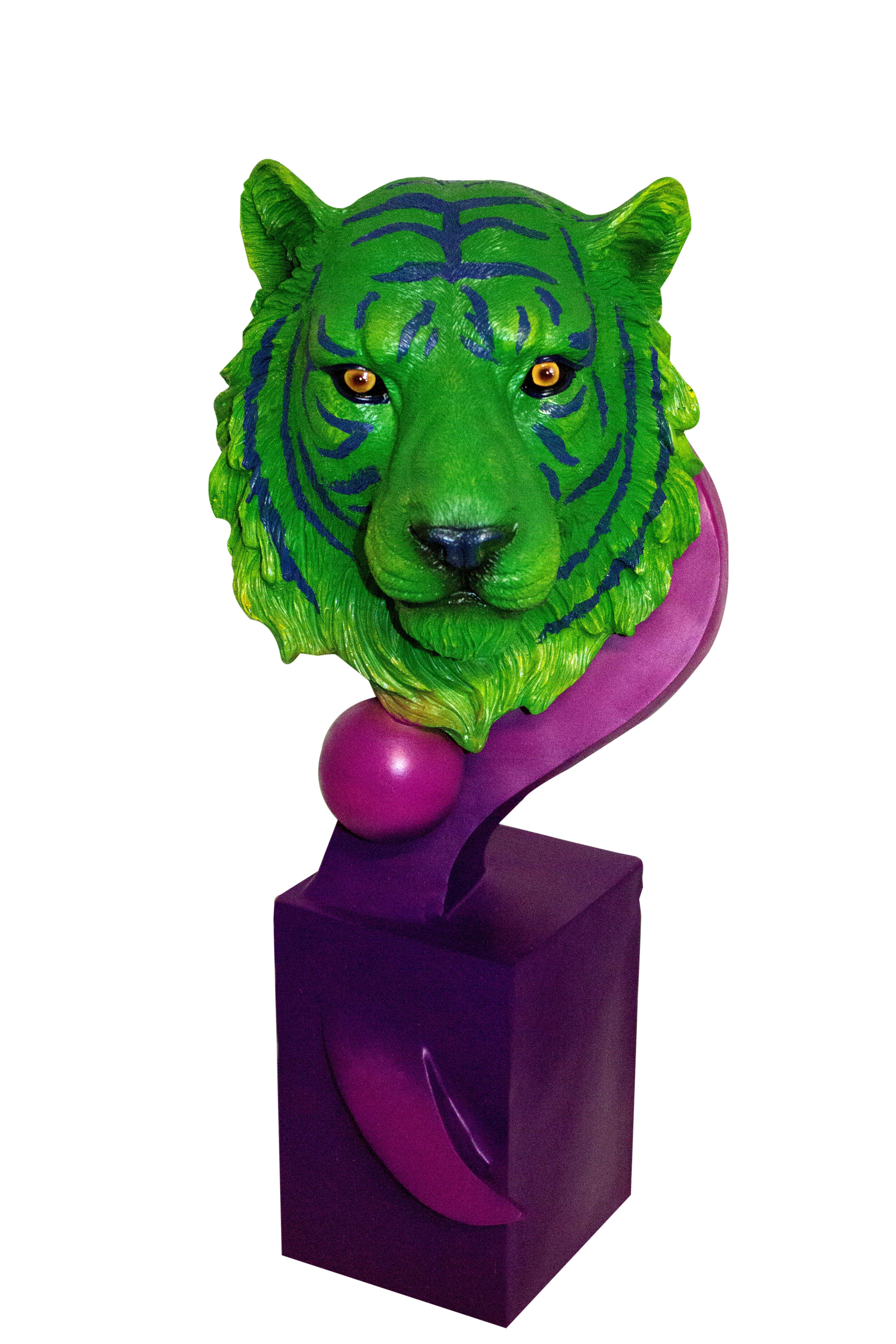 Cód. 107.024 - Tigre Bengala Green/Purple Fullway - 56x25x21