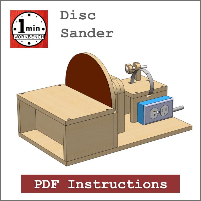 9″ Drill Powered Disc Sander