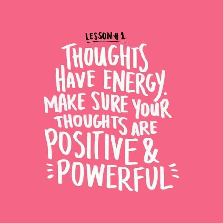 how to think positive thoughts quotes
