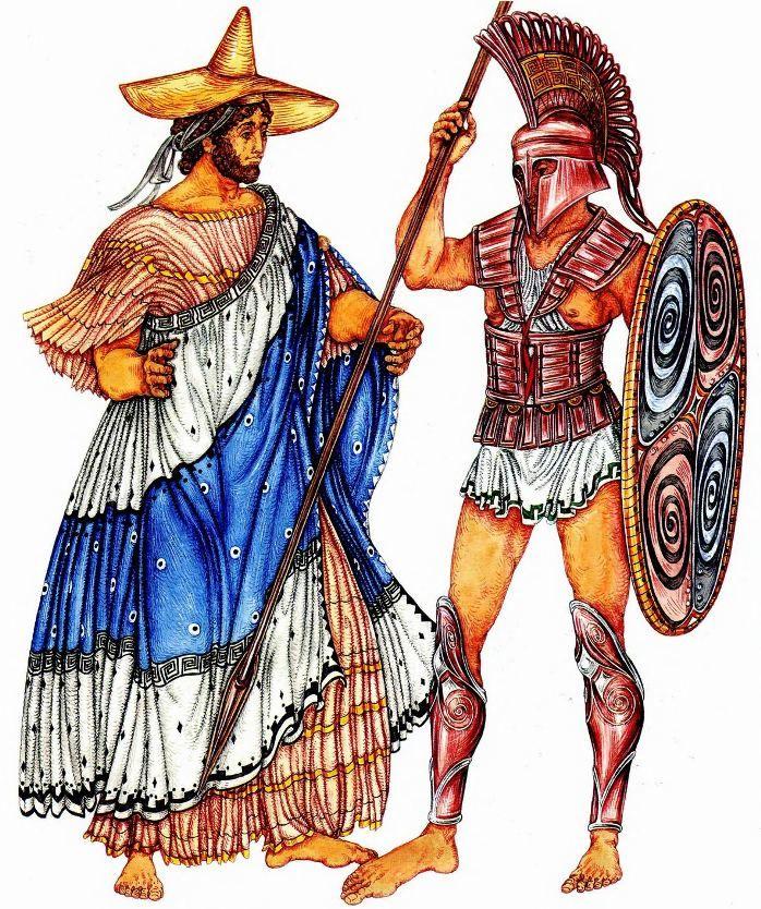 разу картинка древний грек вопрос