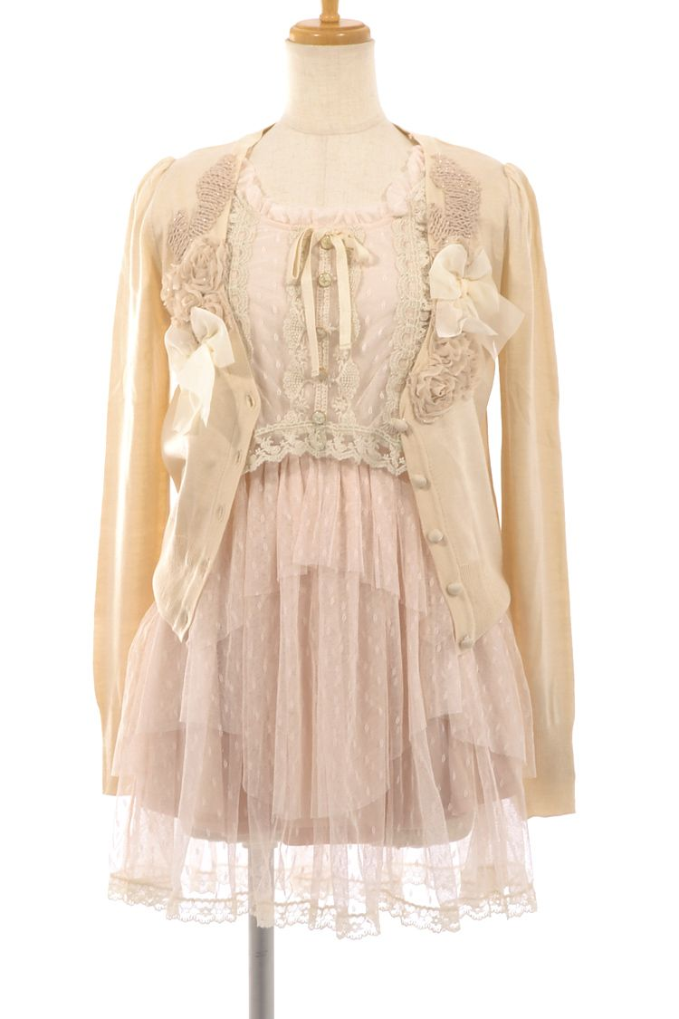..lace and shabby chic clothing. So freak in frilly! I