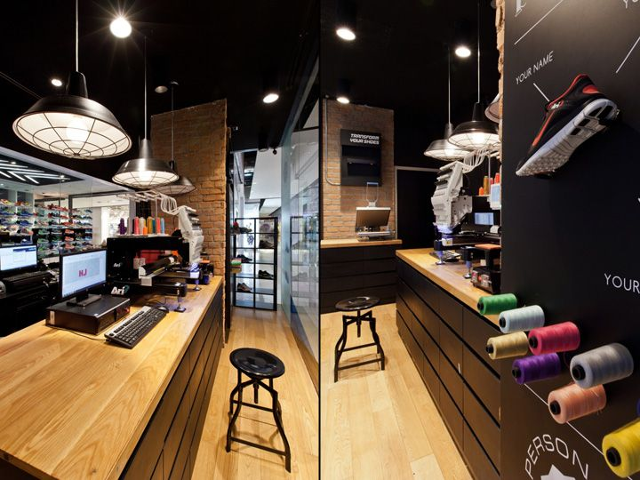 Ari Running store by Whitespace, Bangkok  Thailand  Retail Design Blog  Shop  Interior ...