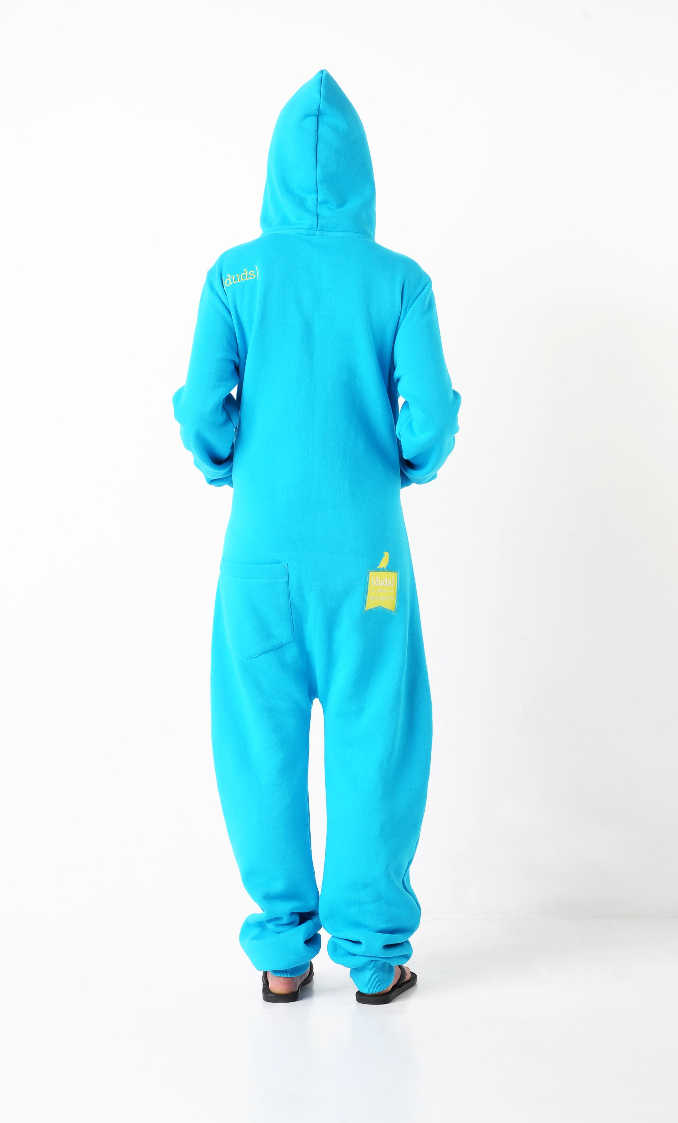 Cookie Monster back jumpsuit