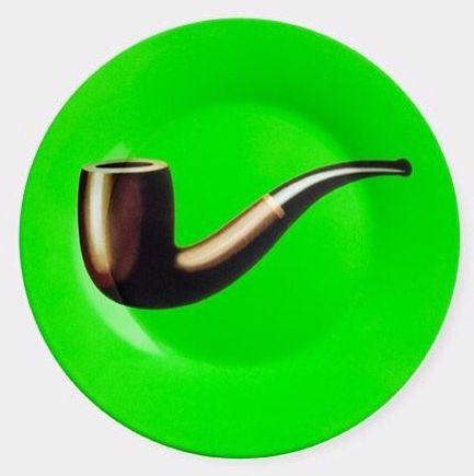 Magritte: Pipe Plate