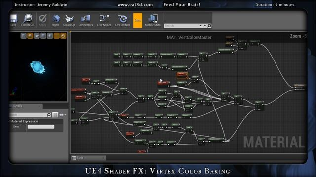 Ue4 Shader Fx Vertex Color Baking With Images
