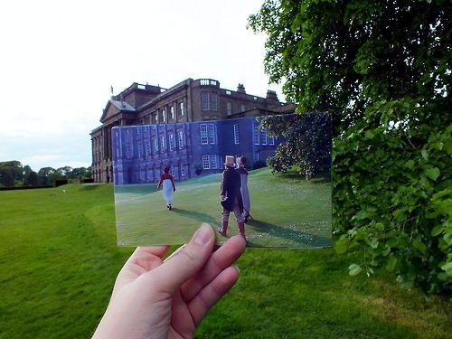 Lyme Park, Disley, Cheshire, England, UK (Pemberley exterior) - Pride and Prejudice directed by Simon Langton (TV Mini-Series, BBC, 1995) #janeausten