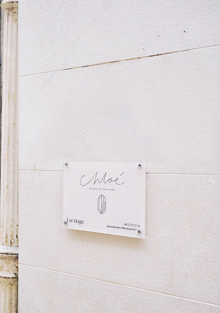 Chloe Salon De Coiffure Montpellier On Behance
