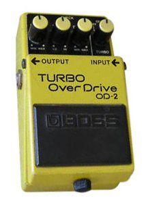Boss OD-2 Overdrive Guitar Effect Pedal