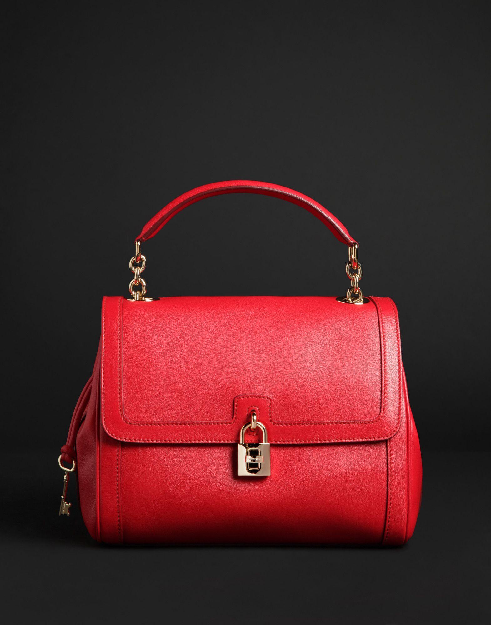 Leather · Dolce Gabbana medium leather tote bag ...