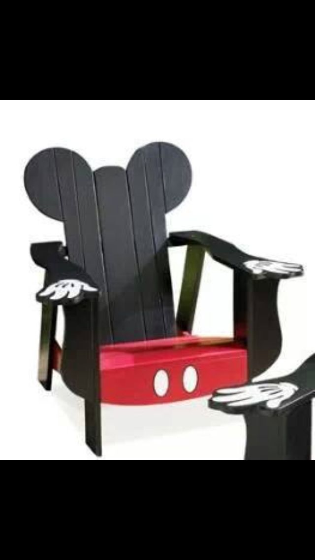 Mickey Mouse Chair For Kids