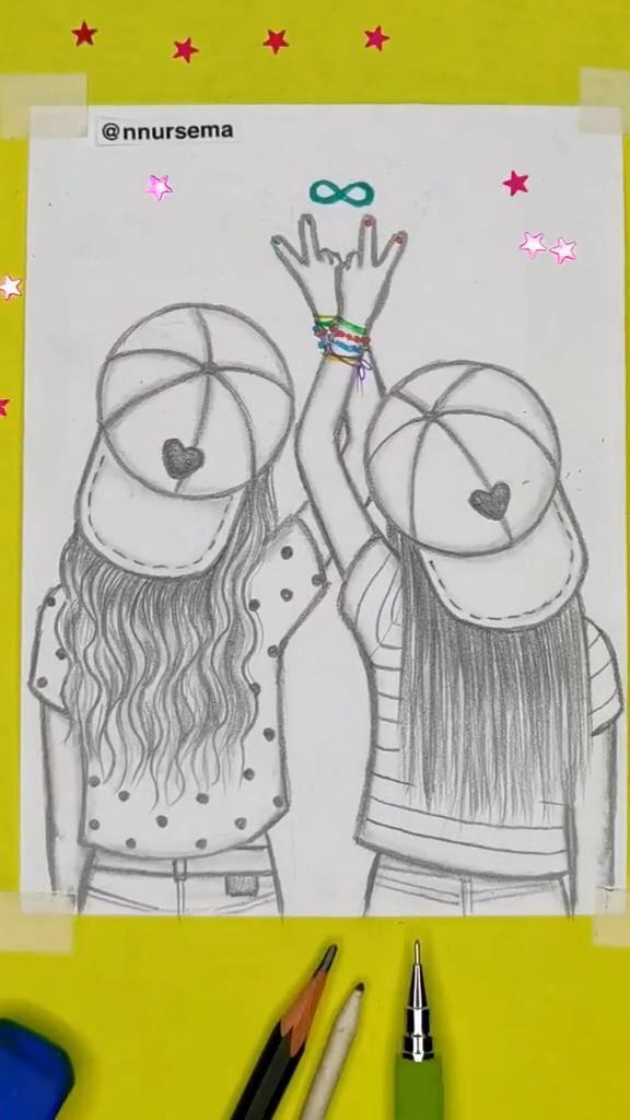 Draw cute BFF!! by nnursema