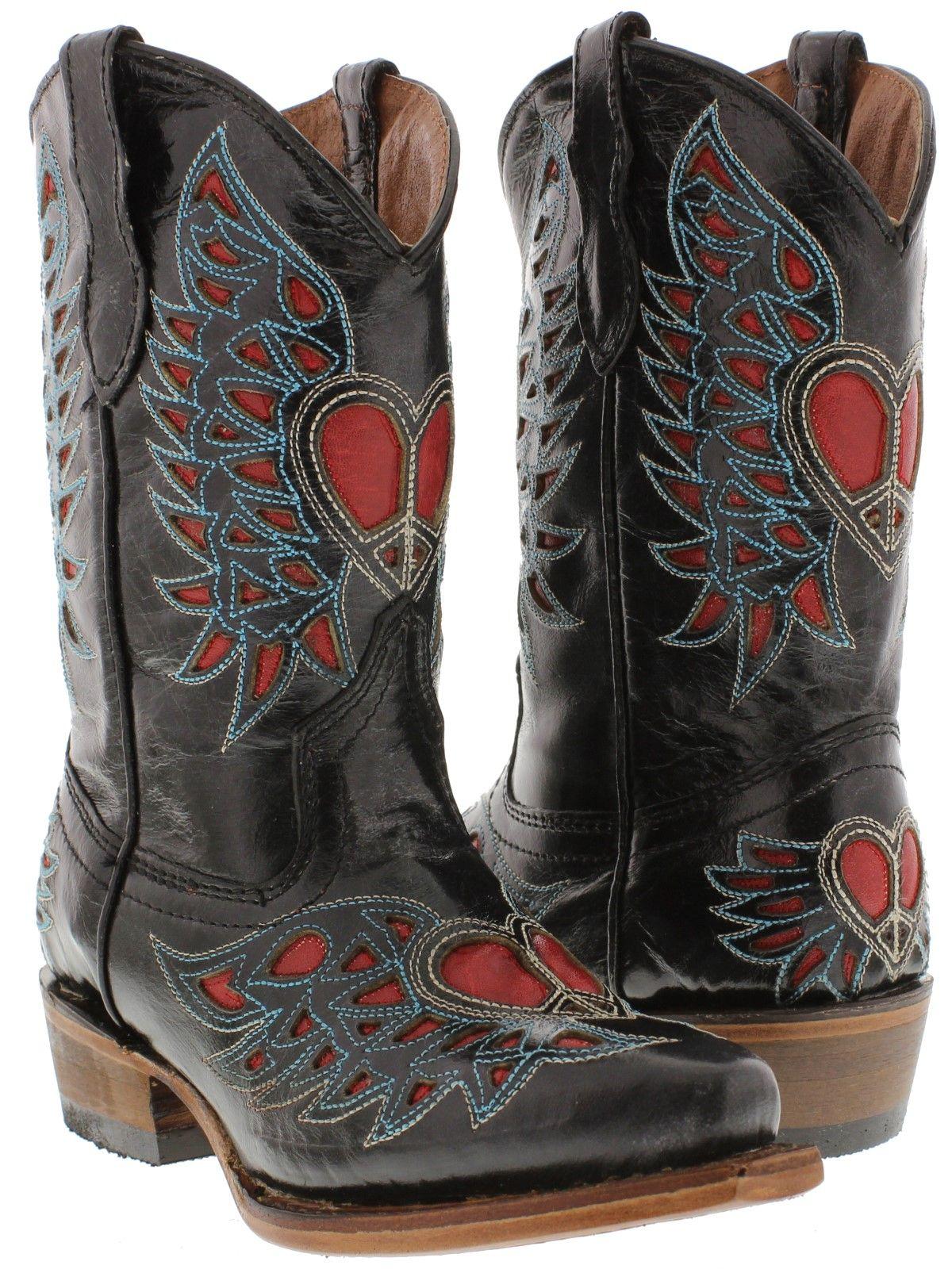 Smoky Mountain Girls Jolene Western Boot Snip Toe