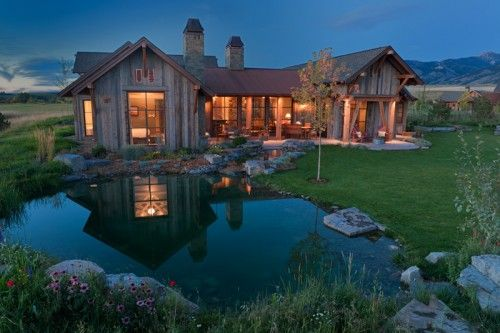 Summer house in the mountains... Ah, to dream!