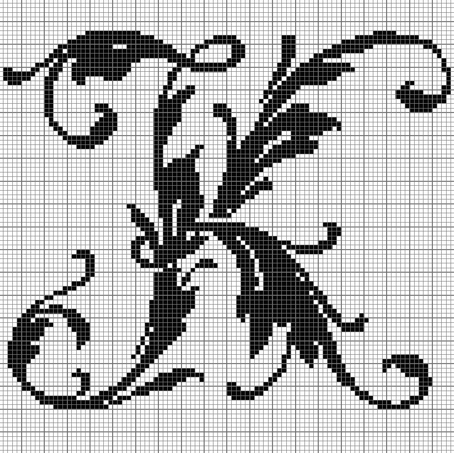 alphabet K leafy glade Lưới Pinterest Cross stitch Stitch