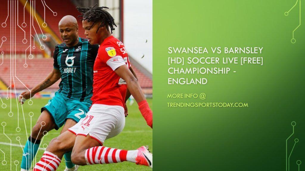Swansea vs Barnsley Live Streaming Soccer Online 29Dec