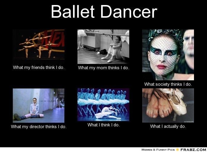 What I actually do | Life of a Dancer | Ballet dancers