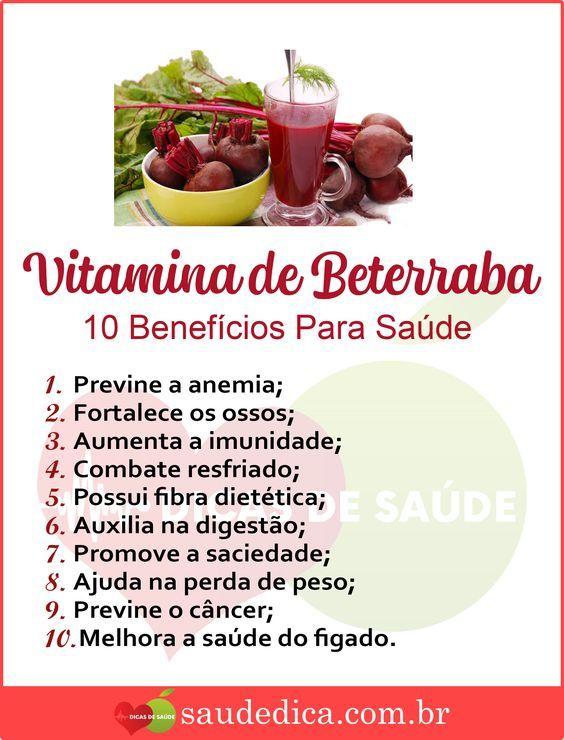 Beterraba na Diät für Emagrecer
