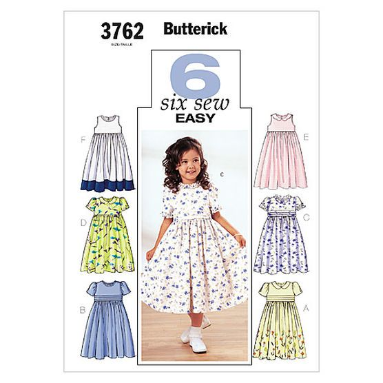 Mccall Pattern B3762 2 - 3 - 4 - 5 - Butterick Pattern