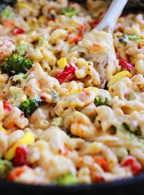 Pasta gratinada con vegetales y especias. | Paladares | Pinterest ...