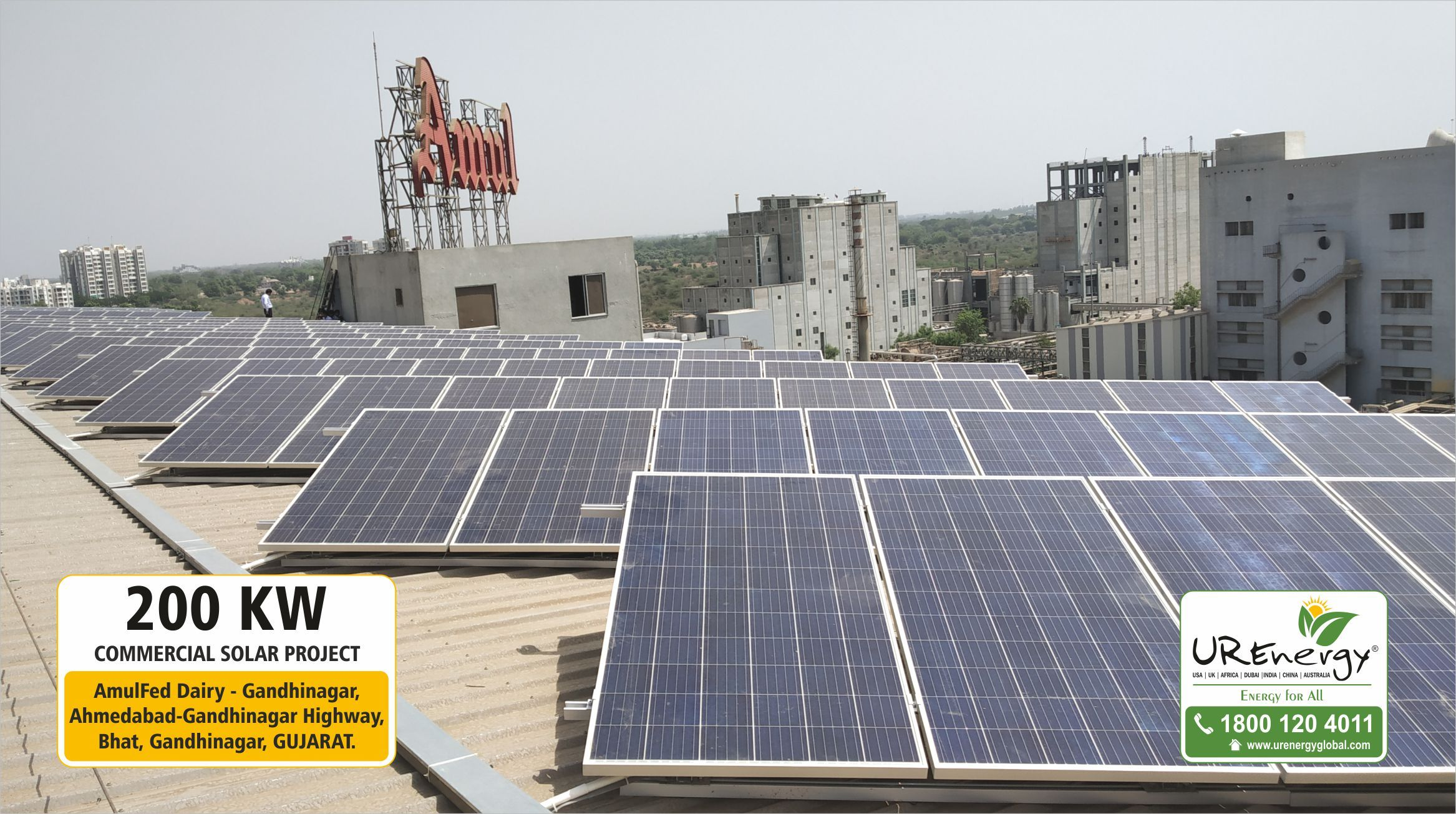 6 4 Kw Residential Rooftop Solar Panel System Installed By U R Energy Team At Ahmedabad Gujarat India V Roof Solar Panel Solar Panels Solar