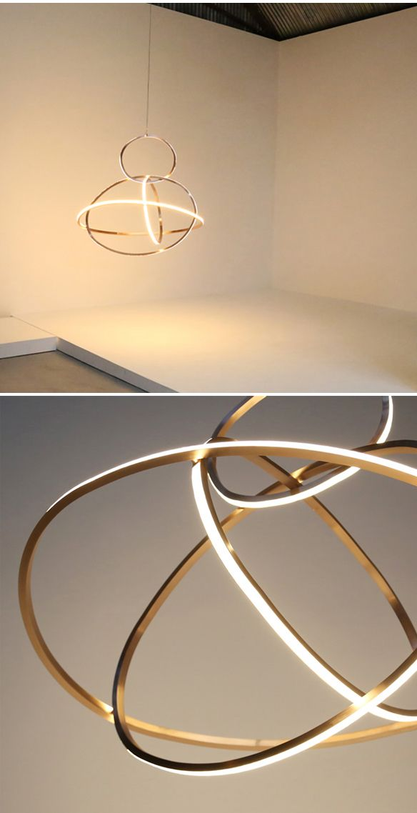 Current works by contemporary international artist light sculptor niamh barry a collection of handmade custom lighting sculptures