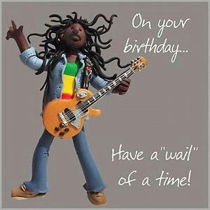 Bob Marley Birthday Card Bob Marley Birthday Man Birthday Birthday Cards For Men