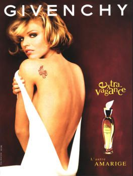 Extravagance d'Amarige by Givenchy with Eva Herzigova (1998).