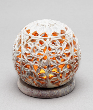 Ball of Fire Tea Light Holder $24    http://www.mymela.com/Details/Home-Decor/Candle-and-Incense-Holders/Ball-of-Fire-Tea-Light-Holder/626/0/0