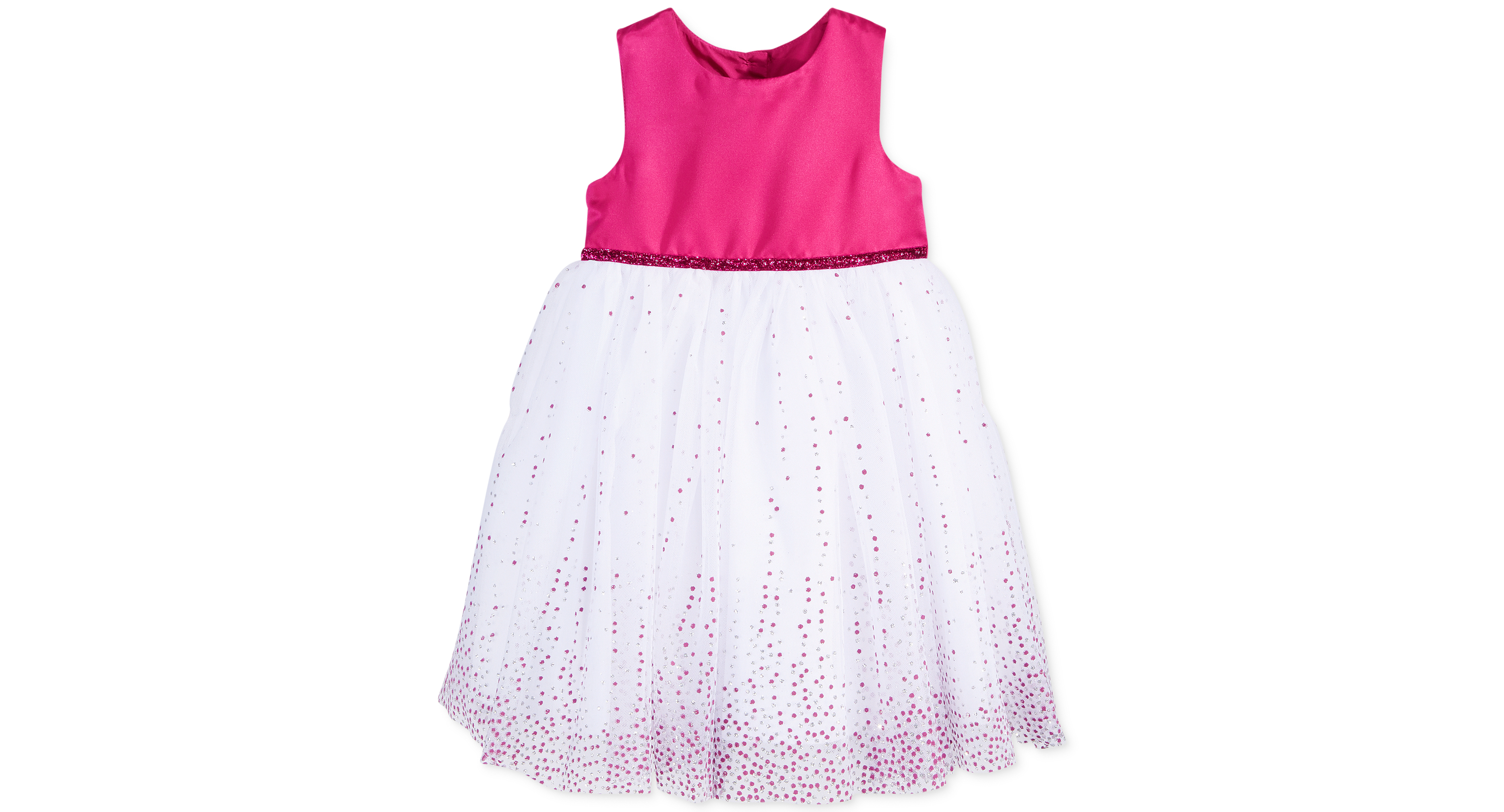Marmellata Baby Girls Lacquer Dot Ballerina Dress