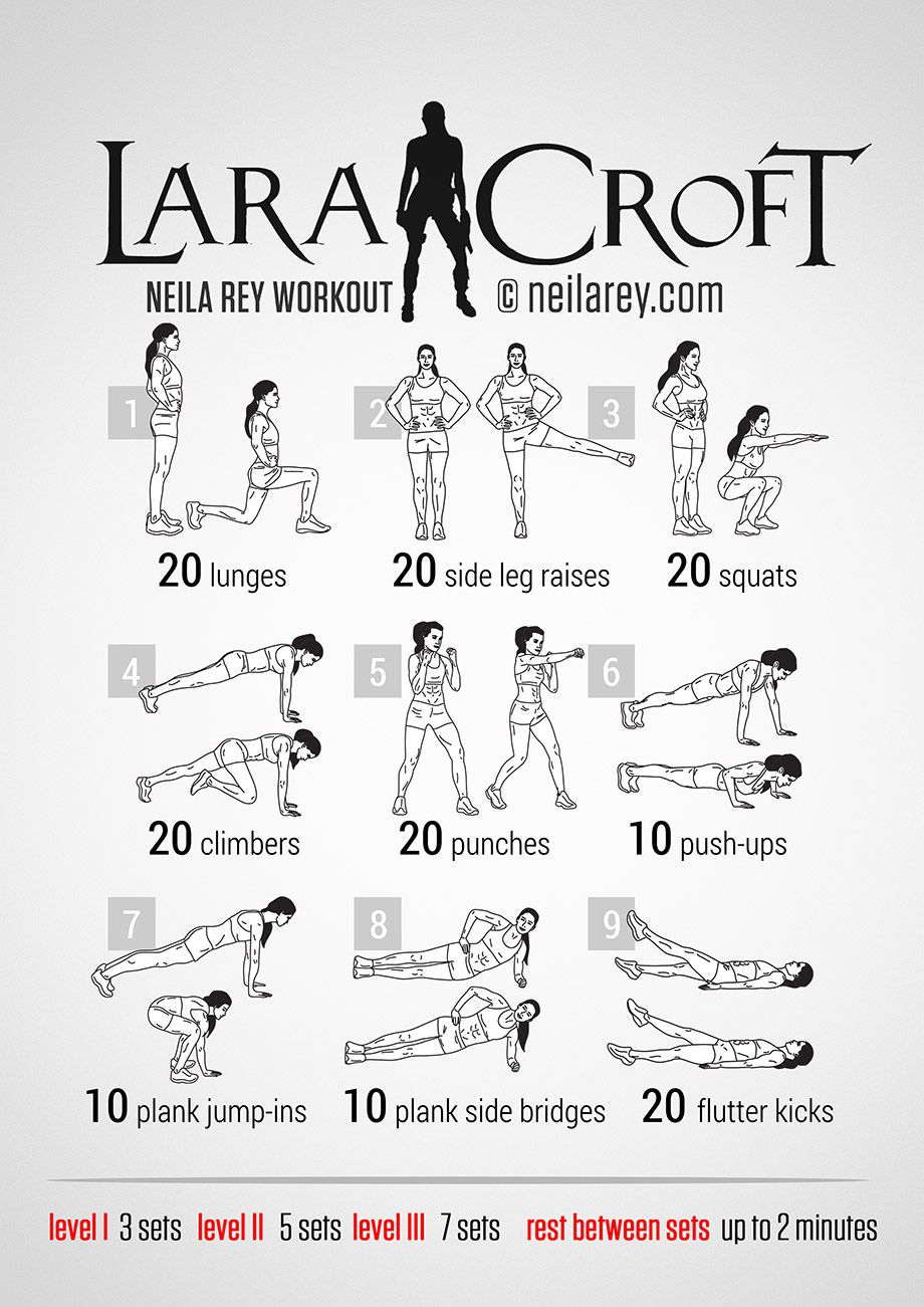 lara croft full body workout for woman workouts for your body pinterest bungen fitness. Black Bedroom Furniture Sets. Home Design Ideas