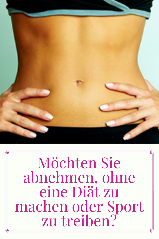 Wie man ohne Pillen Gewicht verliert
