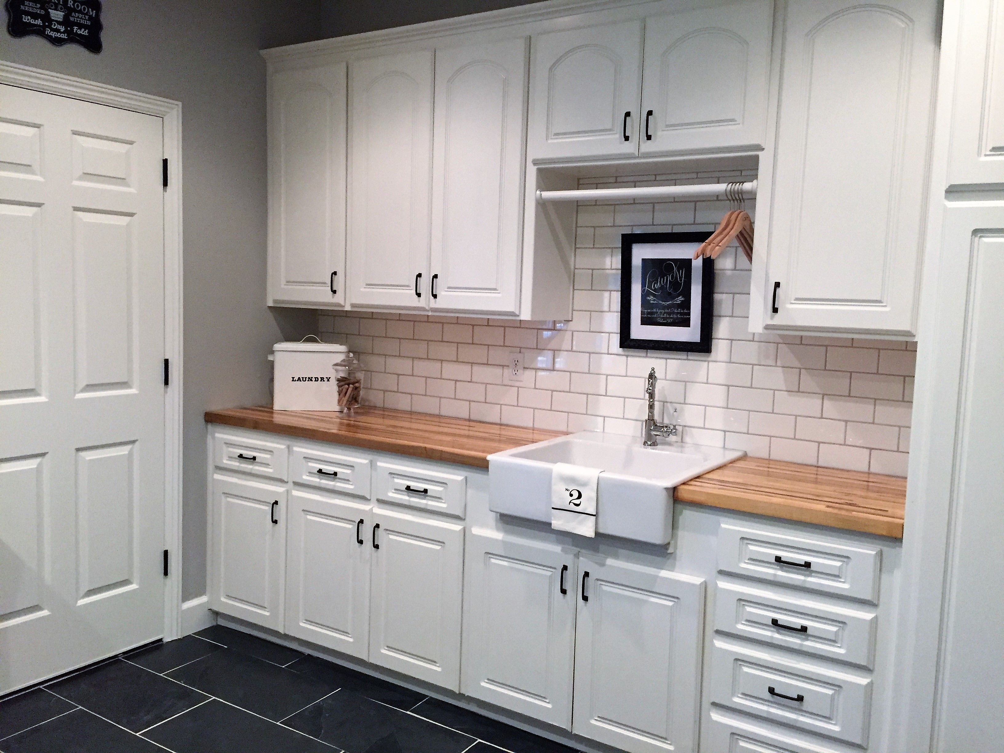 Laundry Room Utility Mudroom Update Farmhouse French