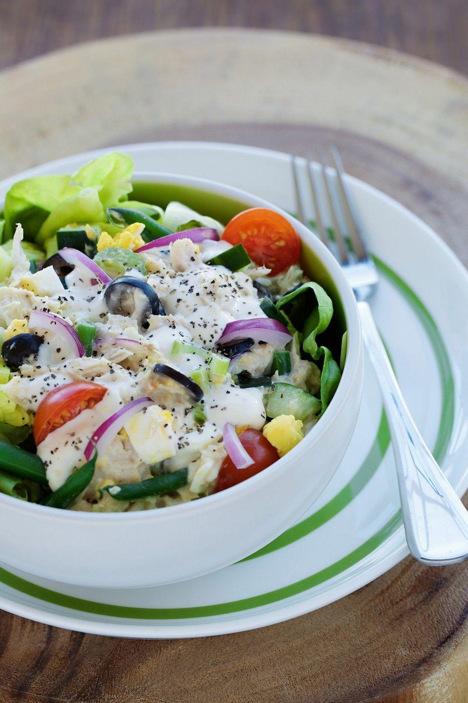 Salad in a Wrap Recipe Vegetable salad recipes