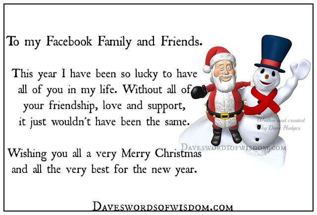 Merry Christmas Messages Holiday Cards For Friends Family Wife