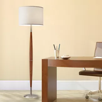 3 Way Gail Metal Double Gooseneck Floor Lamp With Glass Tray Table Steel Includes Energy Efficient Light Bulb Target Floor Lamp Lamp Gooseneck Floor Lamp