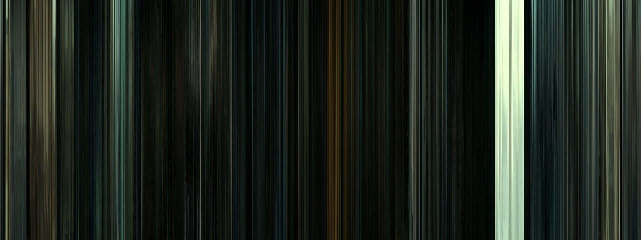 Movie Barcode: Harry Potter and the Deathly Hallows, pt 2.