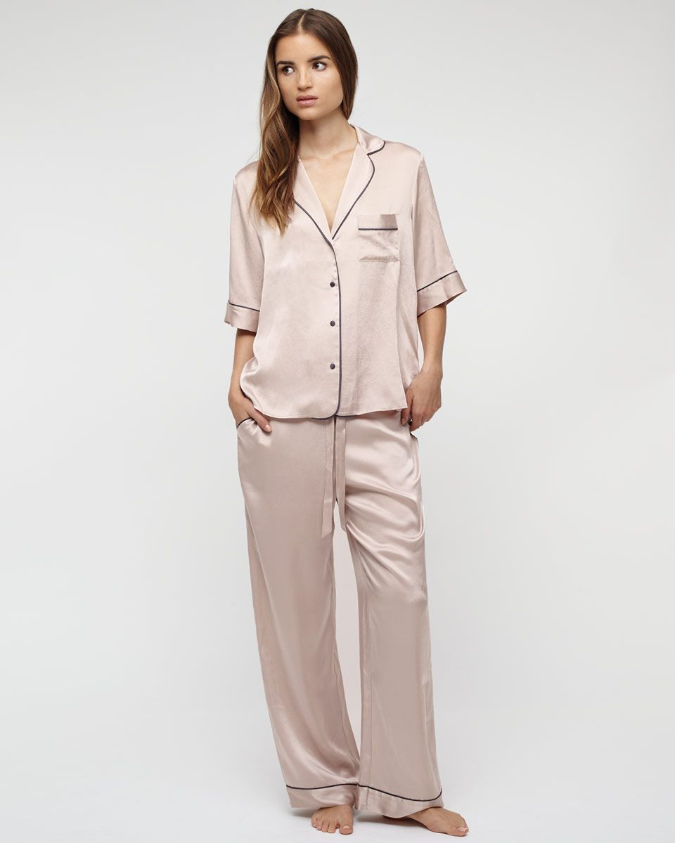 Classic Silk Pyjamas from http://www.charlotteandco.co.uk/classic ...
