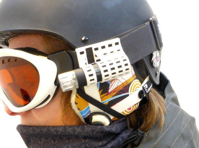 Helmet bracket 3D Print