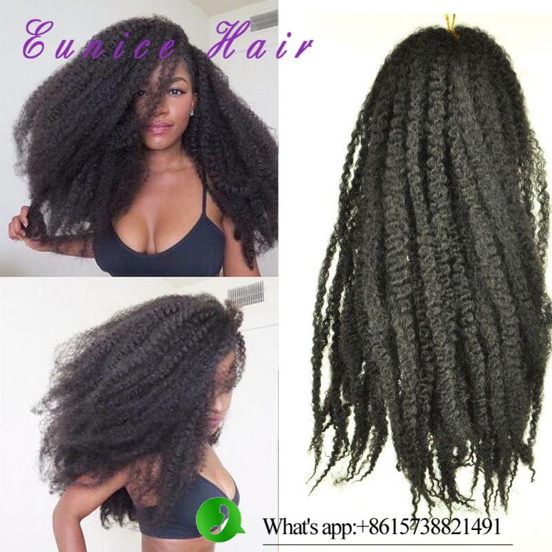 Afro Marly Twist Braiding Hair Kinky Twist Hair Extensioncrochet