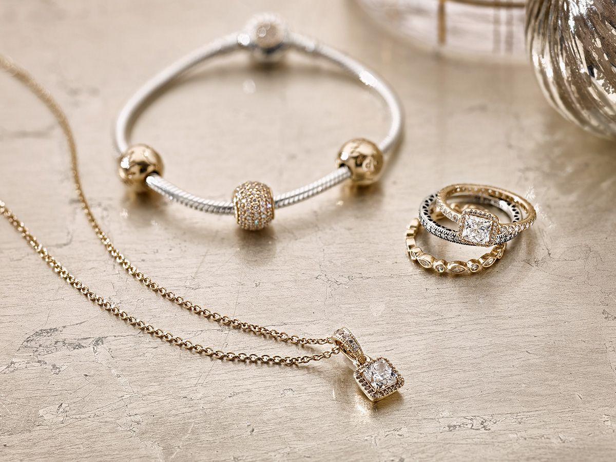 Matching set   Pandora bracelet gold, Pandora style bracelets ...